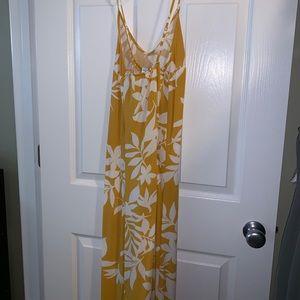 Maxi Hawaiian print dress
